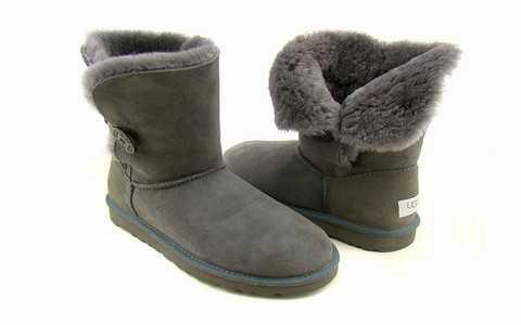 bottes ugg dans la neige