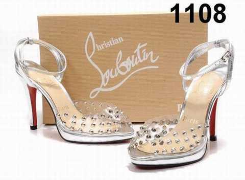 louboutin chaussure de mariée