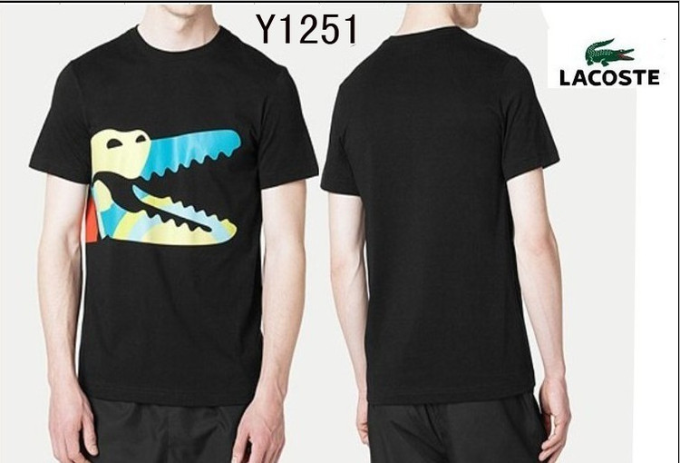 Noir Lacoste polo Raye T Homme Shirt qanBwTA efe5853df65c